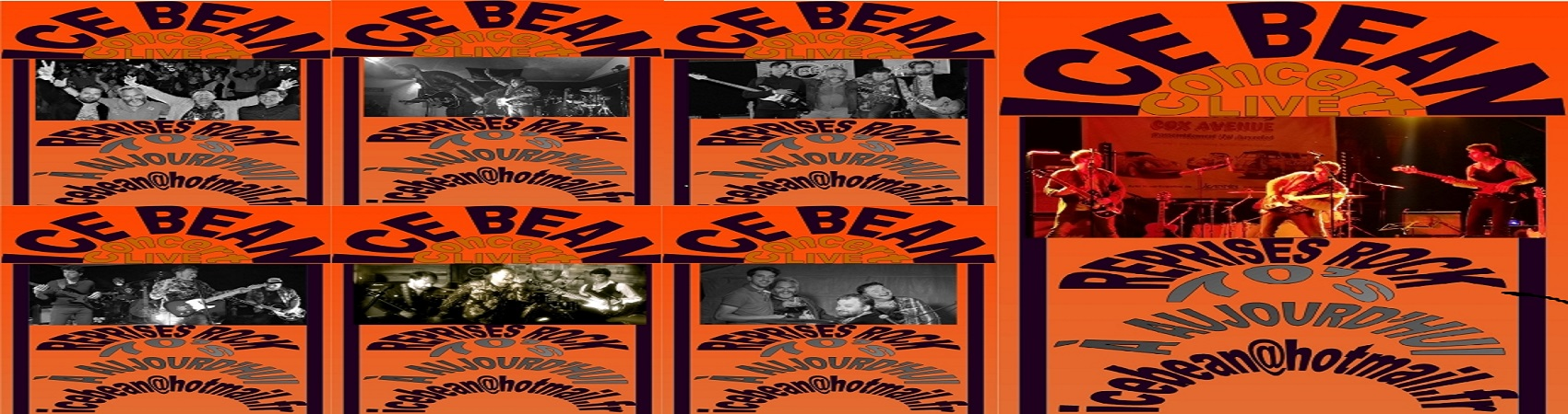 Groupe Rock : The Ice Bean